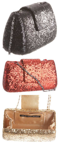 Kg by Kurt Geiger Jazz Glitter Bag