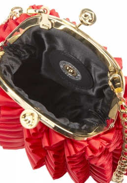 Love Moschino Red Frilly Bag