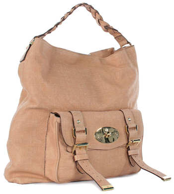 Mulberry Alexa Hobo Bag in Cream