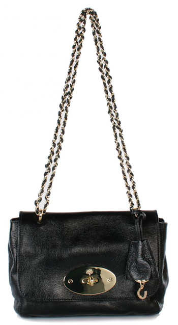 Mulberry Black Lily Bag