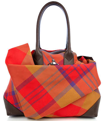 Vivienne Westwood Summer Tartan Bag Red