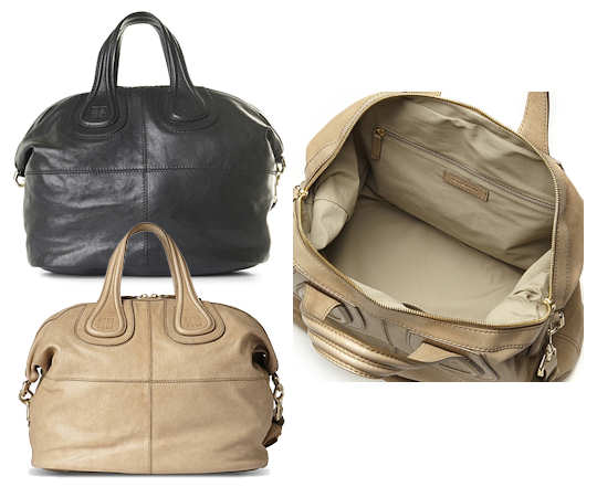 Givenchy Nightingale Handbag in Black or Beige