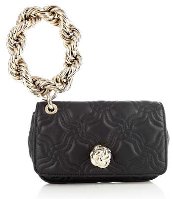 Moschino Quilted Poshette Wristlet