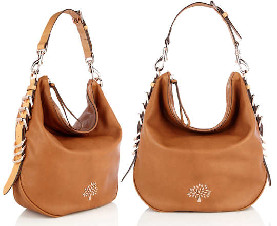 Mulberry Mila Chestnut Hobo