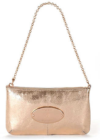 Mulberry Rose Gold Charlie Clutch