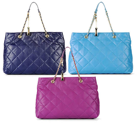 DKNY Quilted Shopper