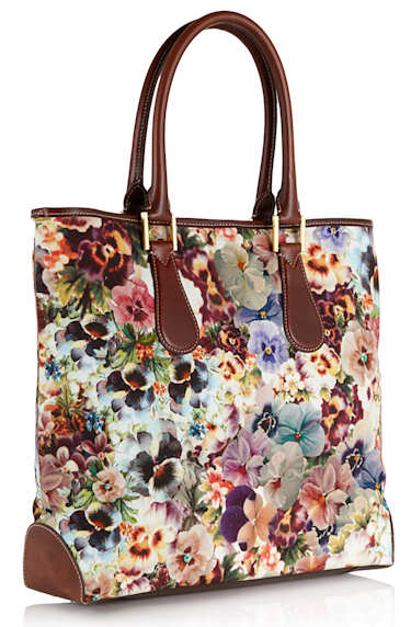 Paul Smith Pansy Tote Bag