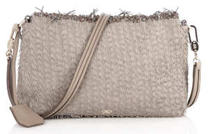 Anya Hindmarch Fringed Leather Carker Bag reverse