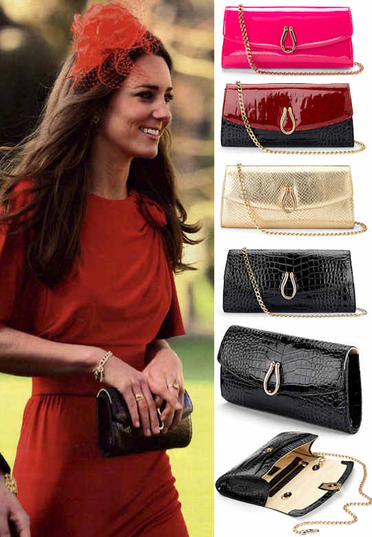 Aspinal Eaton Purse as seen on Kate Middleton
