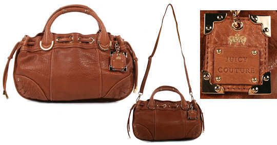 Juicy Couture Brown Leather Bag