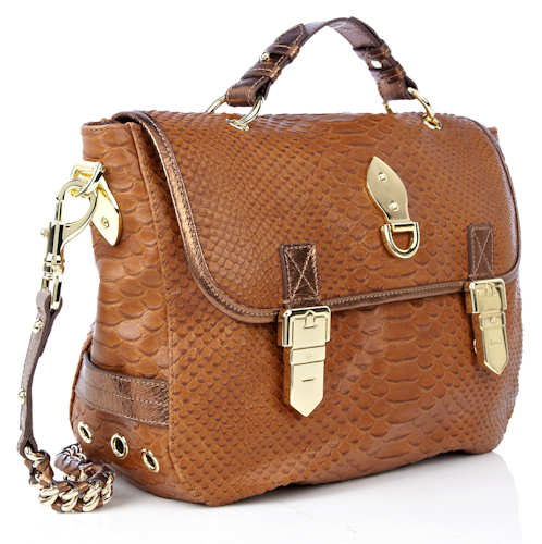 Mulberry Oversized Tillie Oak Silky Snake Bag cd81a00f79e51