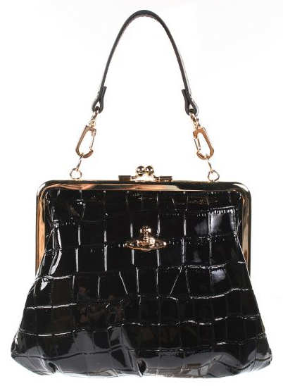 Vivienne Westwood Chancery Mini Handbag in Black