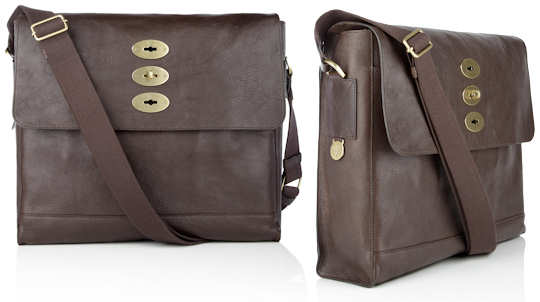 Mulberry Brynmore Messenger Bag in Chocolate