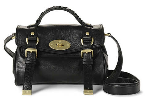 Mulberry Mini Alexa in Black