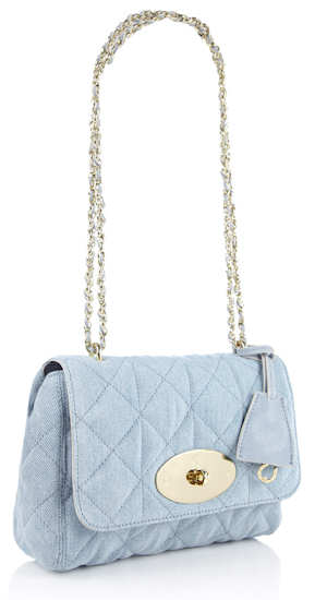 Mulberry Pale Blue Washed Denim Lily