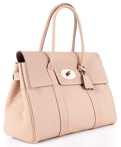 Mulberry Powder Beige Bayswater Bag