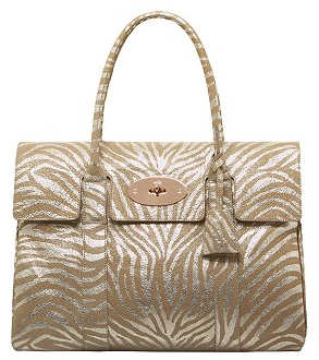 Mulberry Bayswater in Rose Gold and Champagne