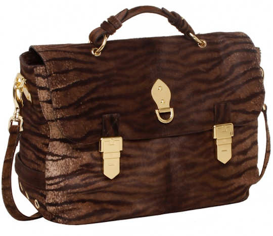Mulberry Bengal Tiger Oversized Tillie Bag