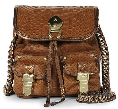Mulberry Tillie Messenger Silky Snake Print Bag