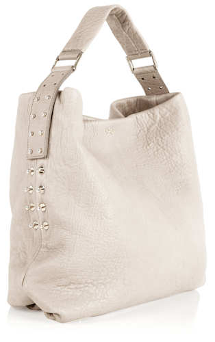 Anya Hindmarch Studded Shoulder Bag in Cream