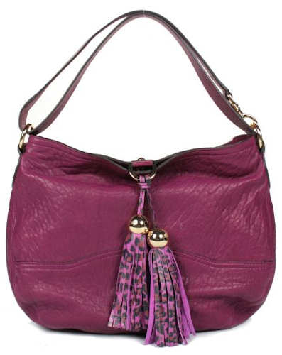 Mulberry Greta Hobo in Plum