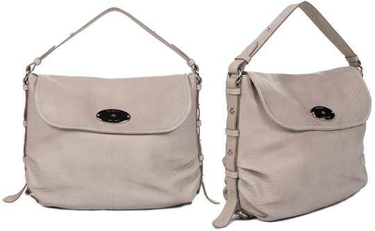Mulberry Hayden Drizzle Cream Bag