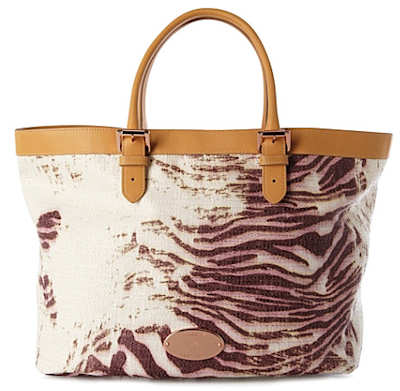 Mulberry Trippy Tiger Beach Tote