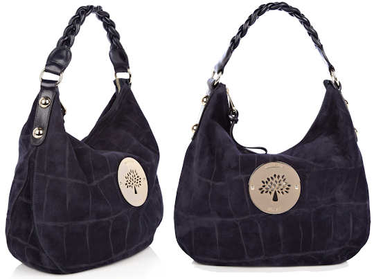 Mulberry Daria Hobo in Midnight