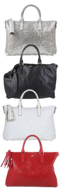Anya Hindmarch Huxley Tote in Silver, Black, White or Red