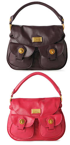 Marc by Marc Jacobs Natasha Bag in Plum or Peony
