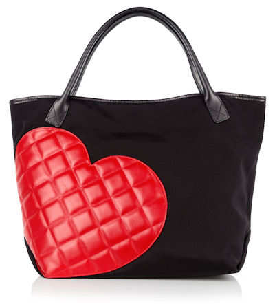 Moschino Cheap and Chic Red Heart Shopper
