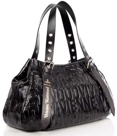 Vivienne Westwood Bam Bam Bag in Black