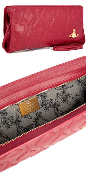 Vivienne Westwood Red Clutch Bag