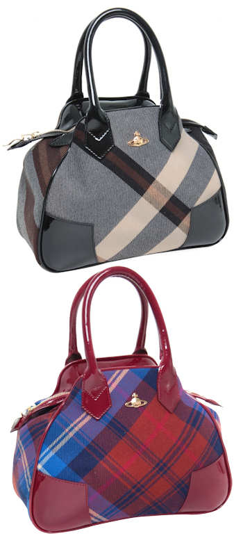 Vivienne Westwood Winter Tartan Bag