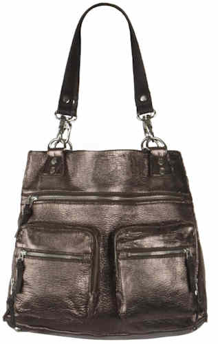 AllSaints Metallic Bay Shopper Bag