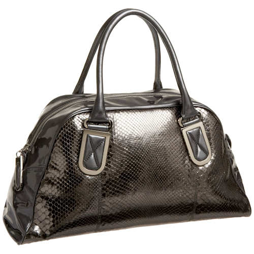 Badgley Mischka Couture Tess Dome Satchel