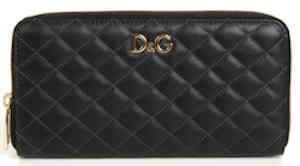 D&G Quilted Purse in Black