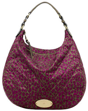 Mulberry Rosie Hobo Bag Foxglove Pink