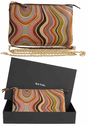 Paul Smith Swirl Chain Strap Clutch