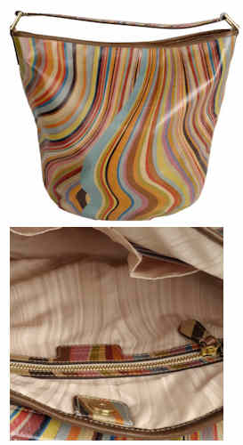 Paul Smith Lizzie Swirl Hobo Bag