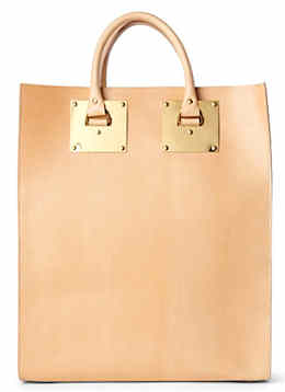 Sophie Hulme Double Plate Tote Bag