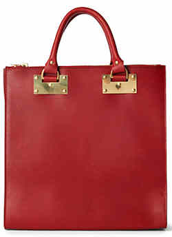 Sophie Hulme Double Zips Tote Bag
