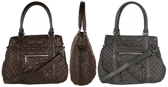 Armani Jeans Quilted Shopper Bag