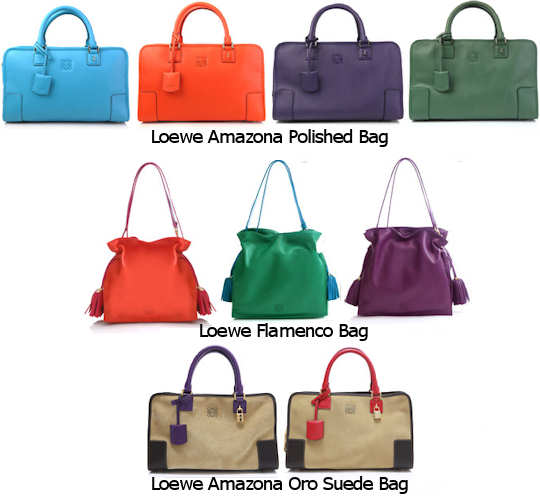Loewe Bags - Amazona and Flamenco