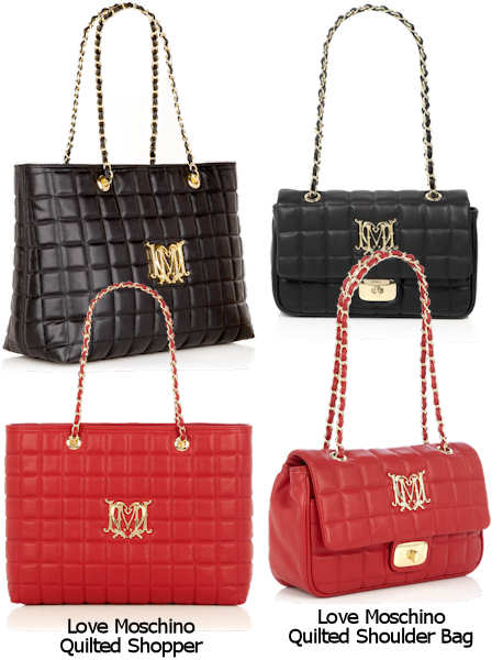 Love Moschino Quilted Bags