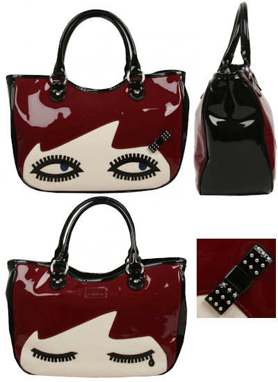 Lulu Guinness Wanda Doll Face Bag
