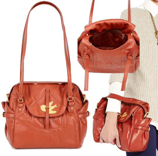 Marc by Marc Jacobs Sookie Petal to the Metal Handbag