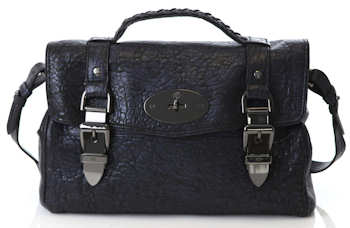 Mulberry Lambskin Buckle Bag