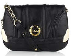 Milly Luxe Leather Flap Bag