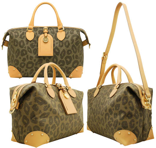 3dbc3d89f483 Mulberry Leopard Print Clipper Bag